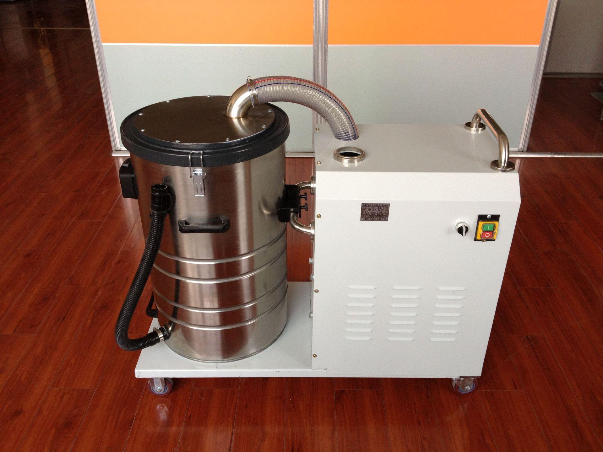 厂家吸石墨粉尘吸尘器 移动式脉冲反吹工业吸尘器 铝屑吸尘器示例图19