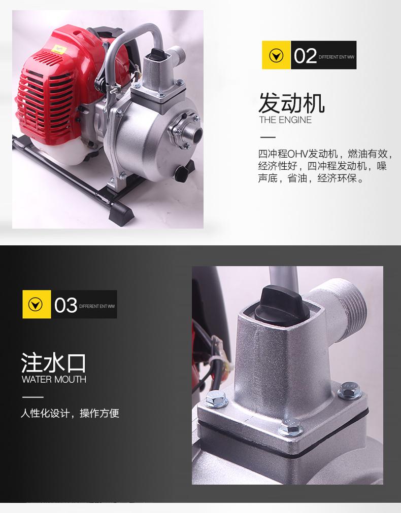 小型汽油机水泵