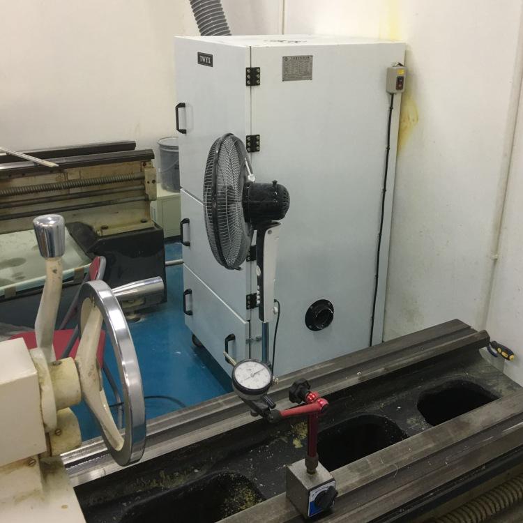 厂家磨床吸尘器  0.75kw磨床粉尘除尘器  JC-750-2砂轮机打磨集尘器   机床铝屑粉尘吸尘器移动式示例图12