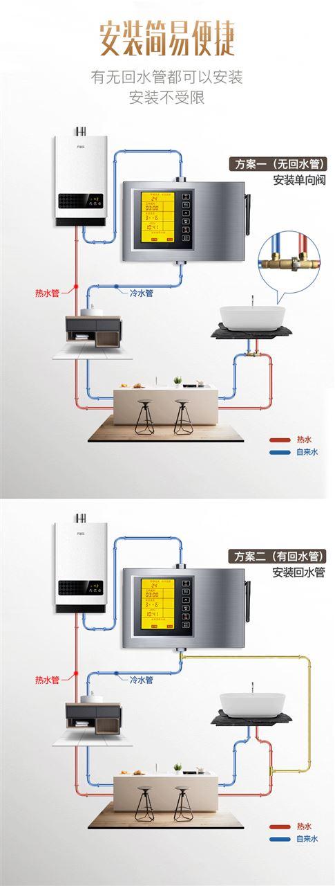 手机控制家用增压泵安装示意图