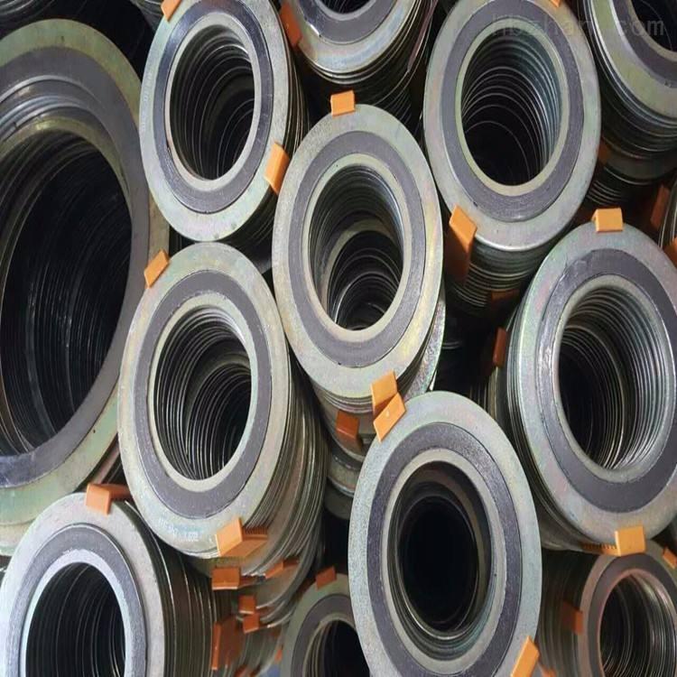 碳钢内外环金属石墨缠绕垫片耐温