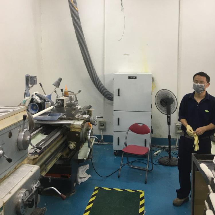 毛刺机工业集尘机  去毛刺机粉尘收集全自动脉冲工业集尘机示例图10