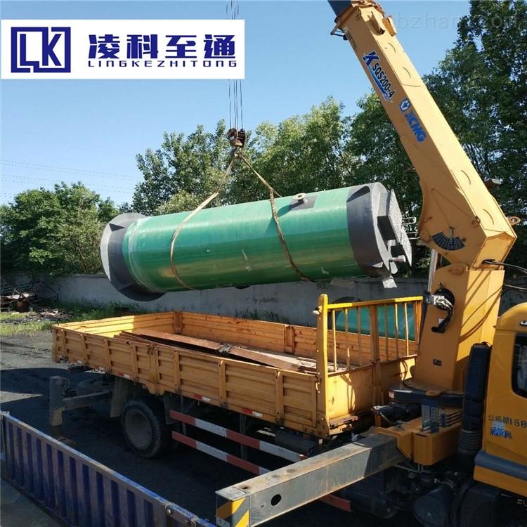 一体化废水提升泵站GRP一体化提升泵站预制式一体化泵站