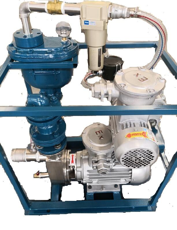 能把水抽干净的自吸泵