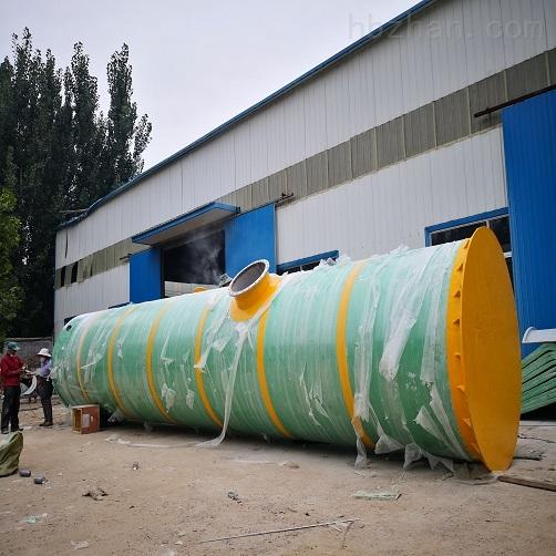 保定市GRP一体化提升泵站安装环境