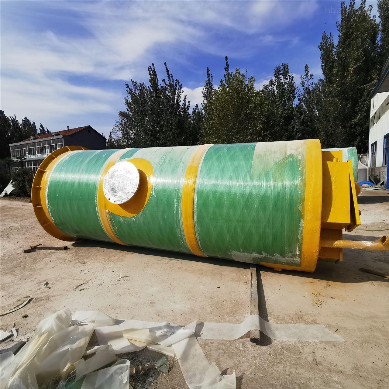 唐山市GRP一体化预制泵站品质保障