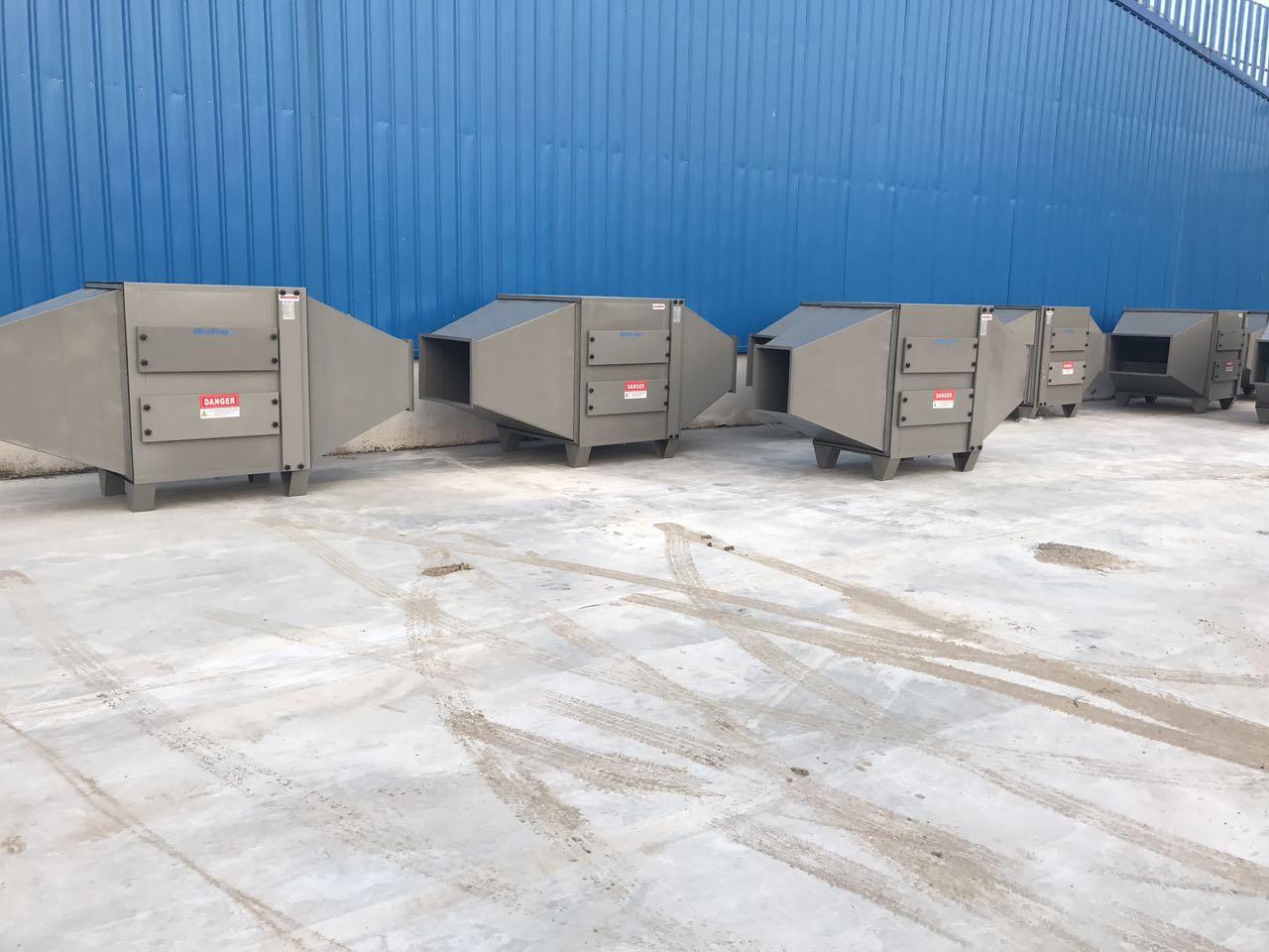 准备发货的光催化废气净化设备实拍图3