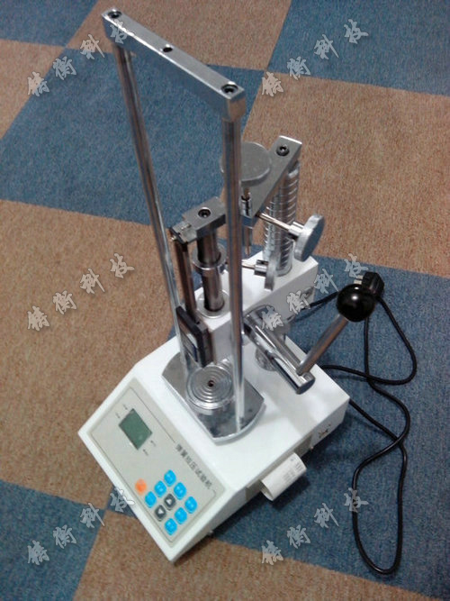 SGTH数显弹簧手动拉压力测试台