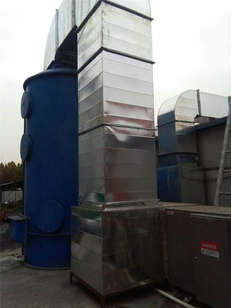 草木绿voc废气处理设备工程实拍图2