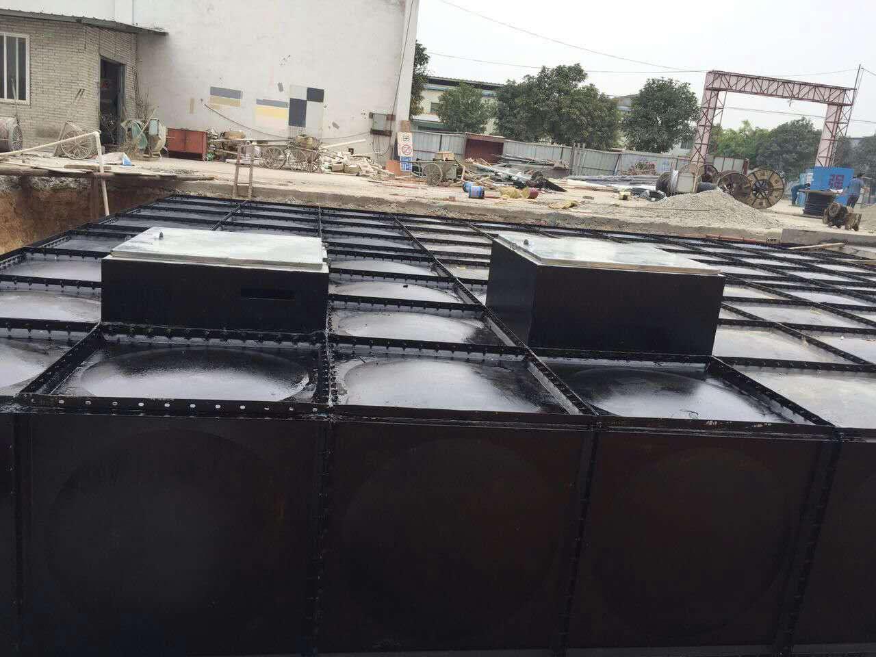 南京江宁抗浮式增压箱泵一体化给水设备(泵站)