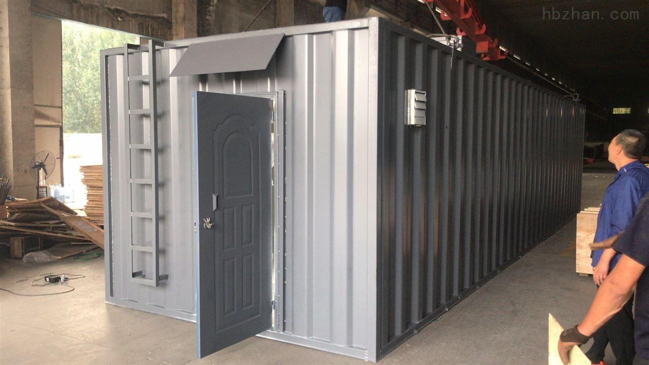 山西集装箱生活污水设备处理工艺
