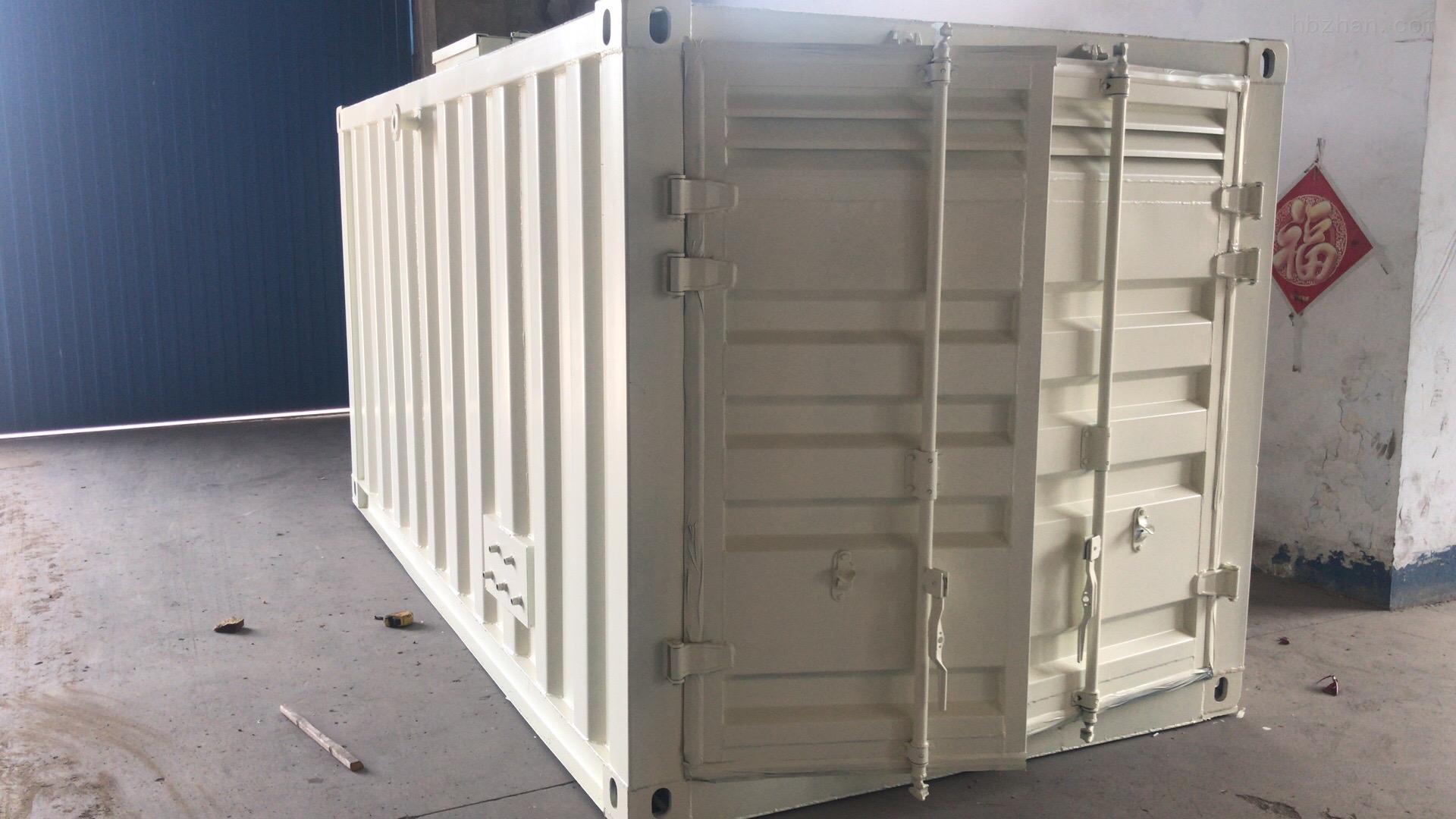 新疆集装箱一体化设备