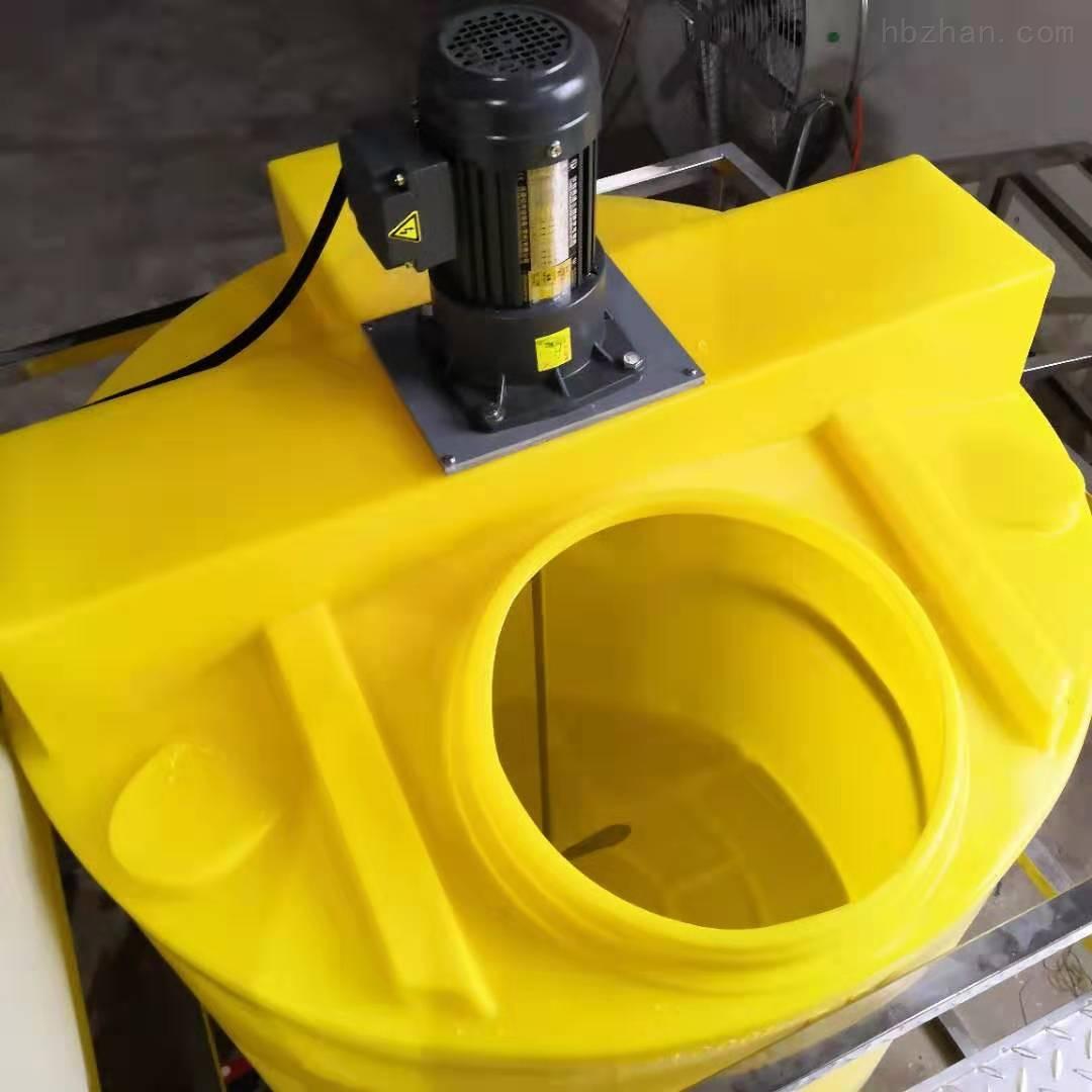 谦源1000L塑料搅拌罐 外加剂溶解槽