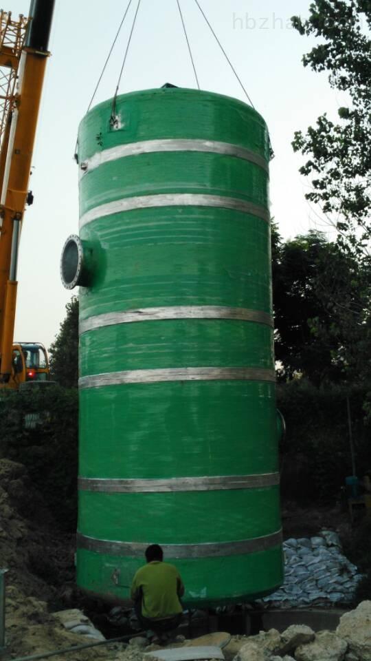 日喀则GRP污水提升泵站厂家