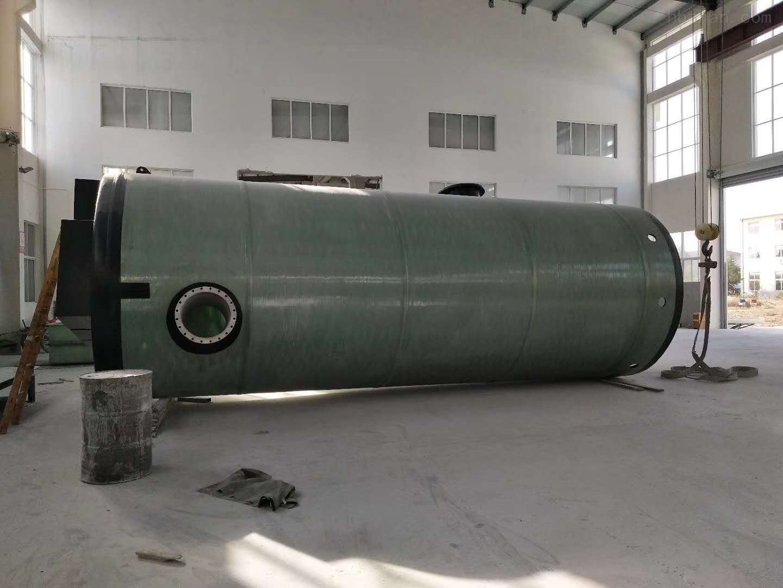 驻马店GRP污水提升泵站厂家
