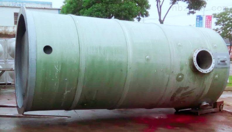 赣州GRP雨水泵站