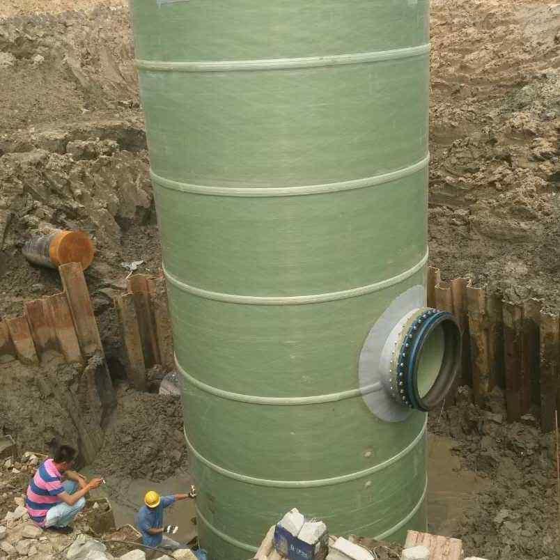 抚州 玻璃钢雨水泵站