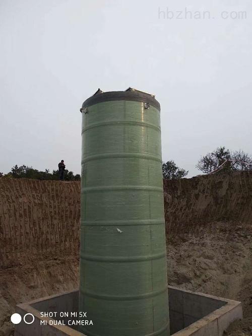 江西地埋式雨水泵站