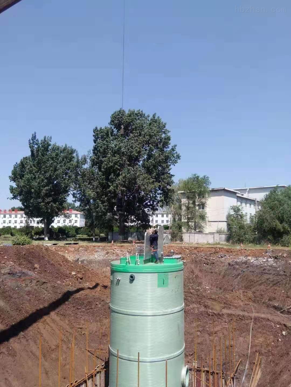 晋中雨水提升泵站厂家报价