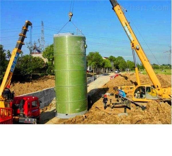 江西地埋式GRP预制泵站