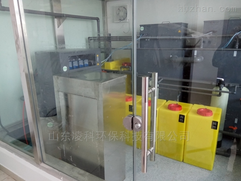 新乡农产品质检废水处理设备使用方法