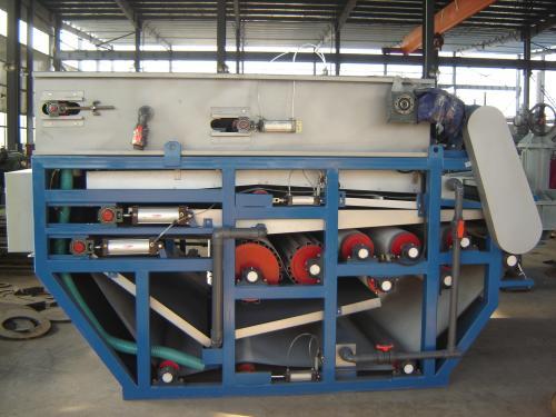 带式压滤机生产中不出泥现象的原因以及解决办法