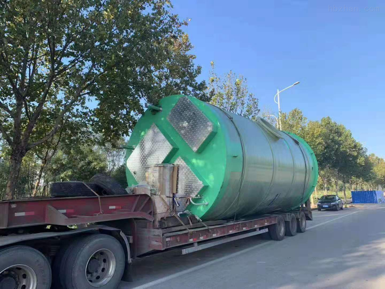 石家庄GRP污水提升泵站报价