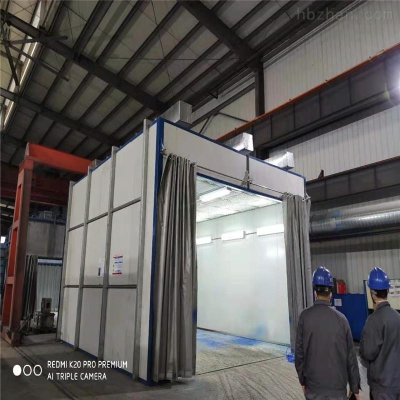 芜湖侧吸式喷漆房设备厂家直销