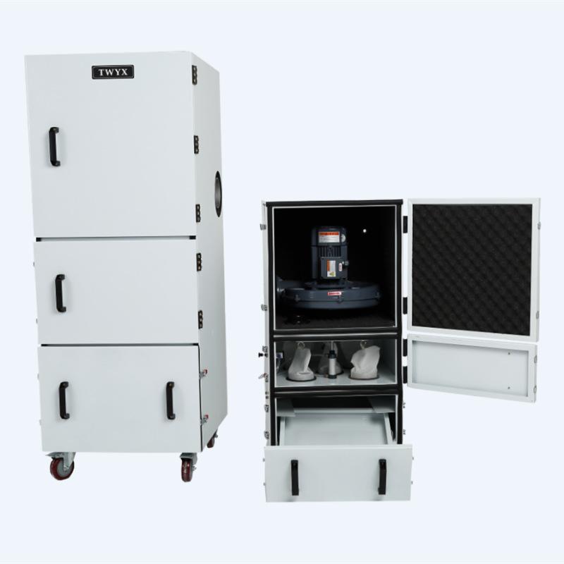 工业磨床吸尘器 1.5KW磨床粉尘集尘机 率磨床集尘器厂家示例图6