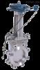 PZ43H/Y链轮单夹式刀型闸阀(梅花型)
